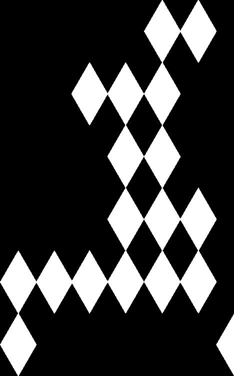Diamond overlay pattern