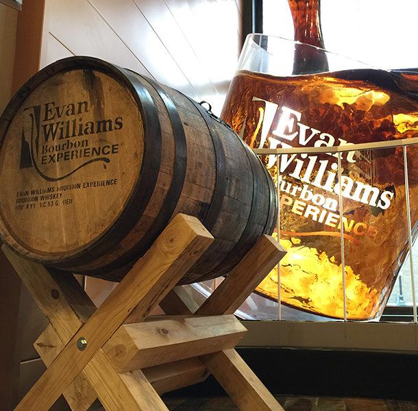 Evan Williams Bourbon Experience Fountain